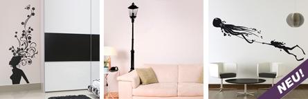 Ab 29 Euro kann man einem Raum einen komplett neuen Style geben