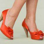 Offene Schuhe
