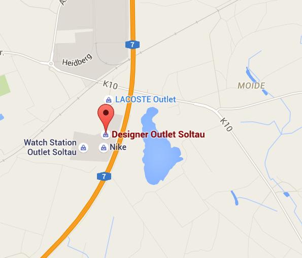 Designer Outlet Soltau Maps