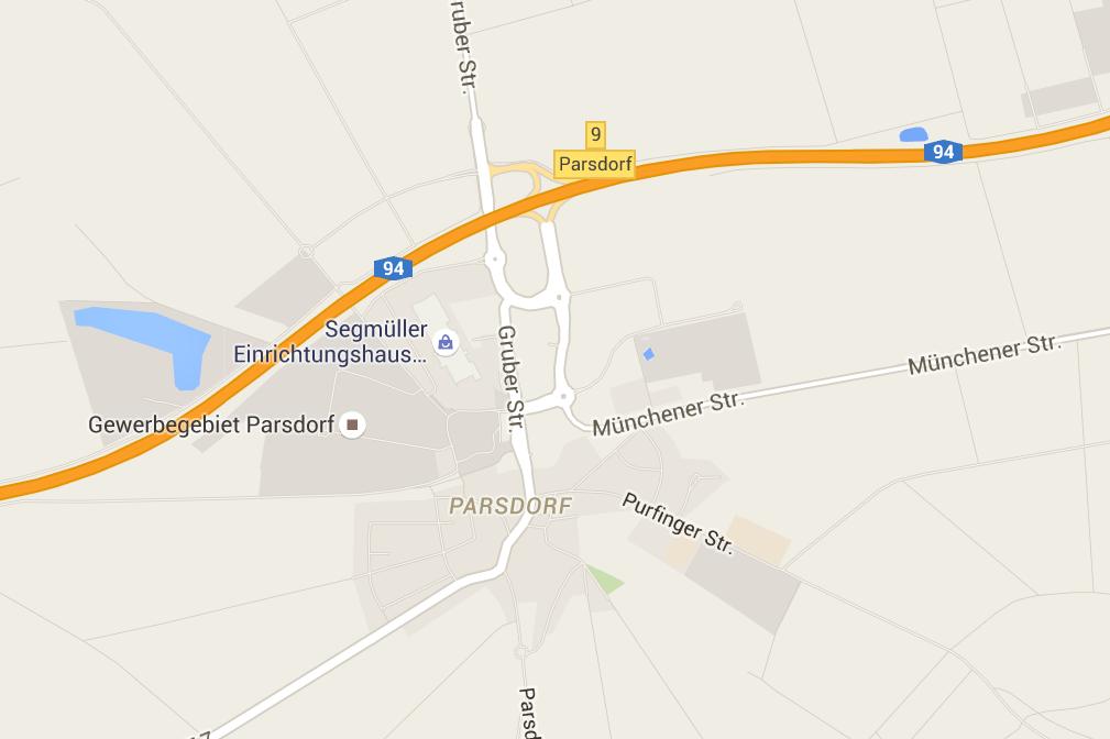 Anfahrt Parsdorf City Outlet
