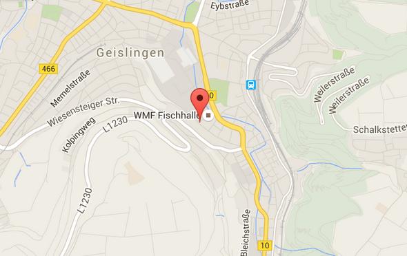 Geislingen map