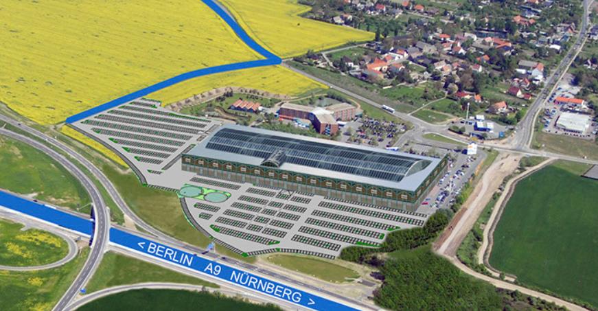 Parken FOC Halle Leipzig